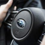 what does it mean when a Subaru steering wheel locks